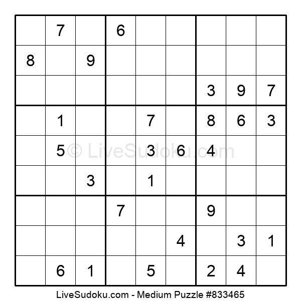 Medium Puzzle #833465