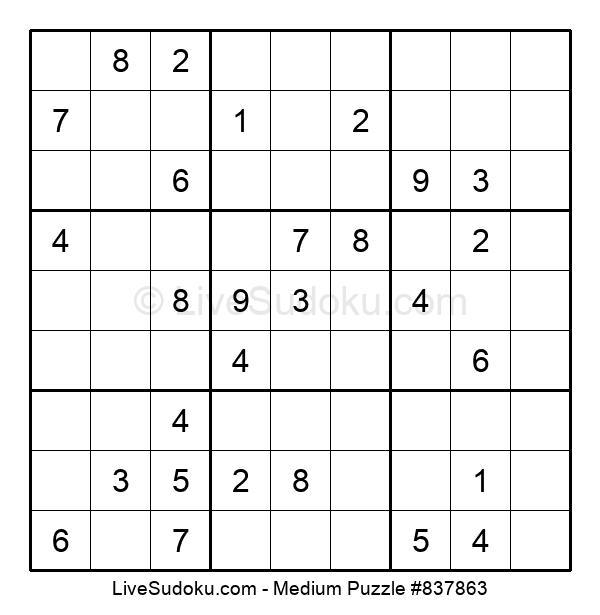 Medium Puzzle #837863