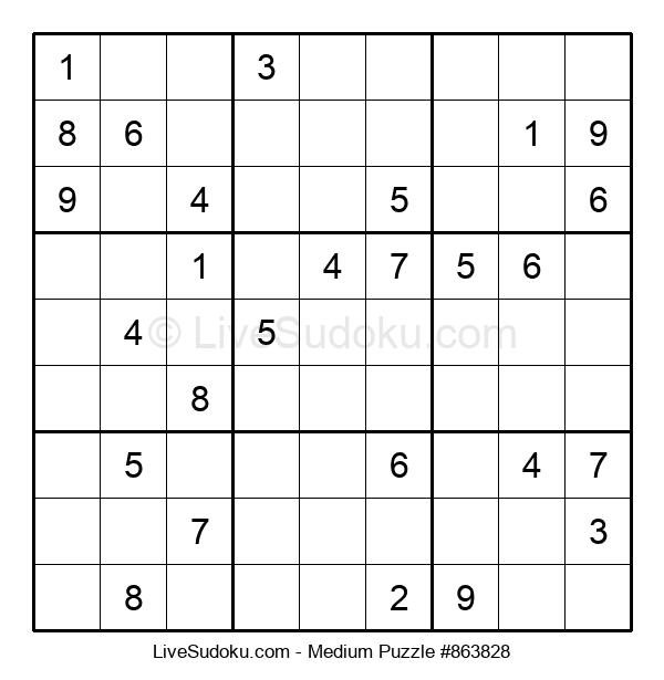 Medium Puzzle #863828