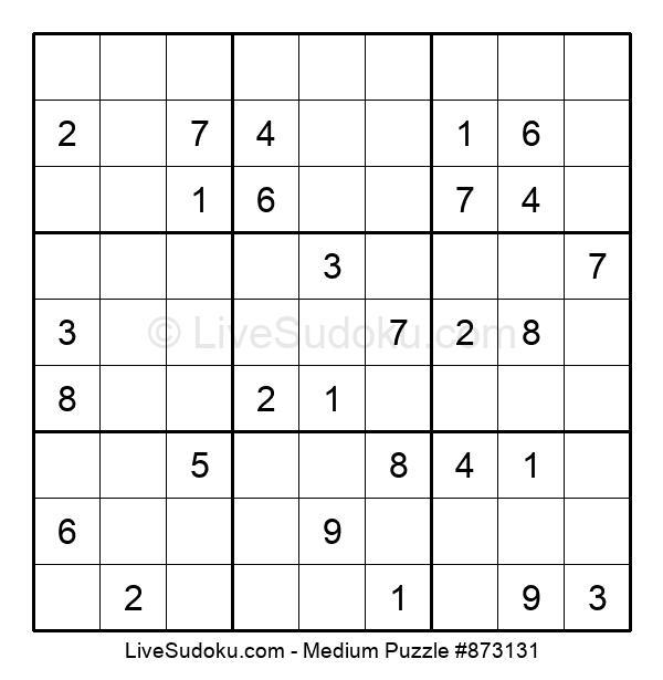 Medium Puzzle #873131