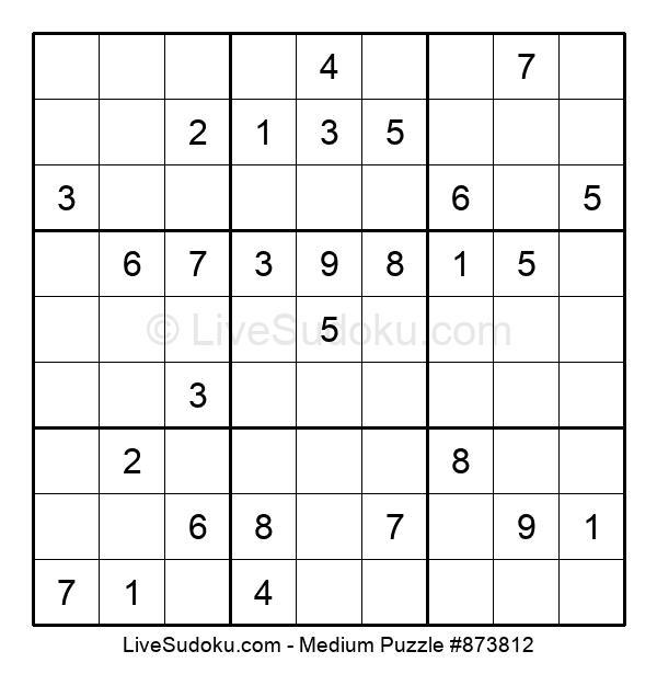 Medium Puzzle #873812