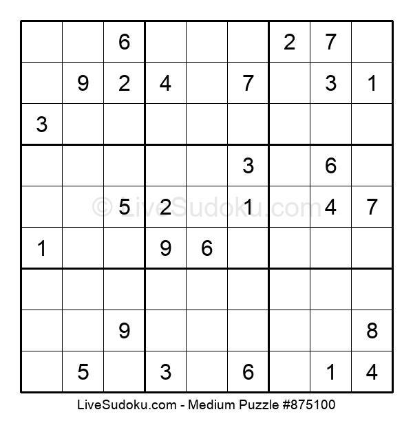 Medium Puzzle #875100