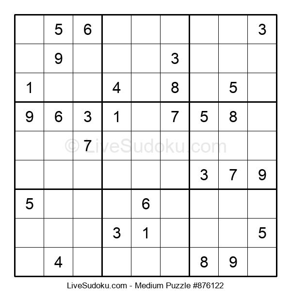 Medium Puzzle #876122