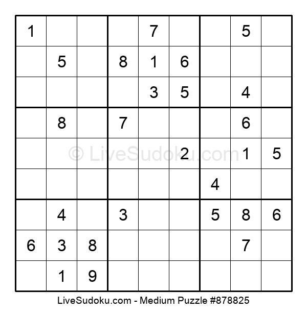 Medium Puzzle #878825