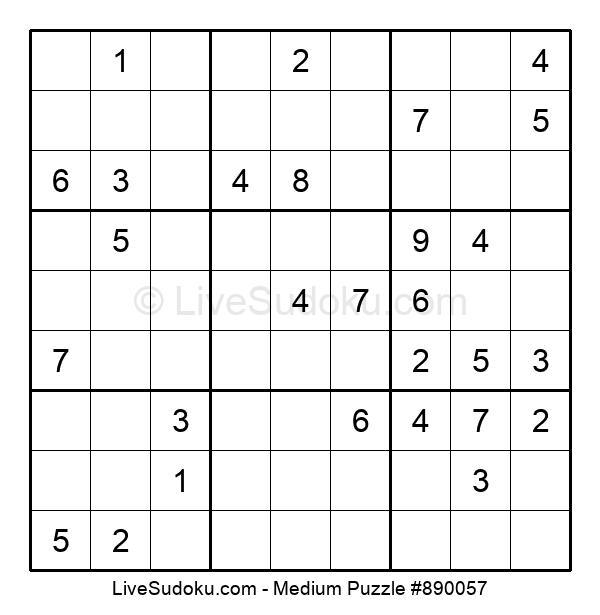Medium Puzzle #890057