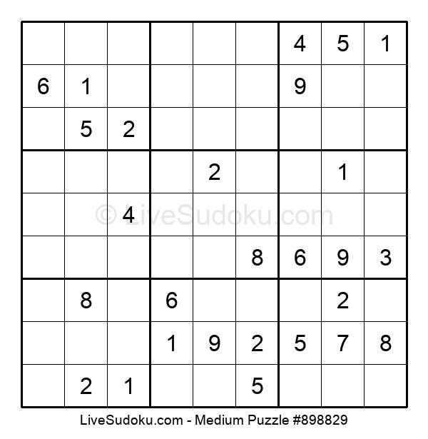 Medium Puzzle #898829