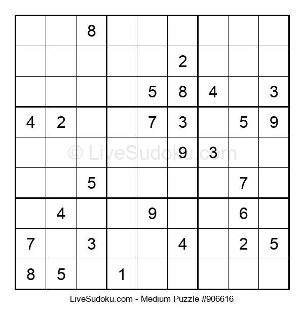 Medium Puzzle #906616