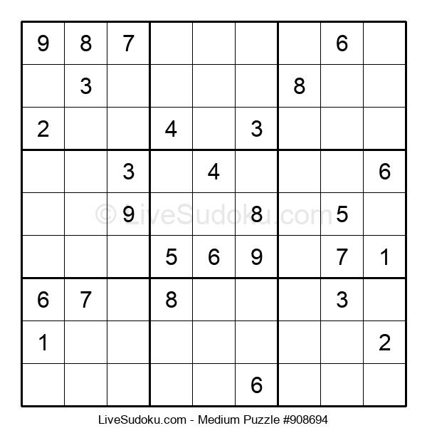 Medium Puzzle #908694