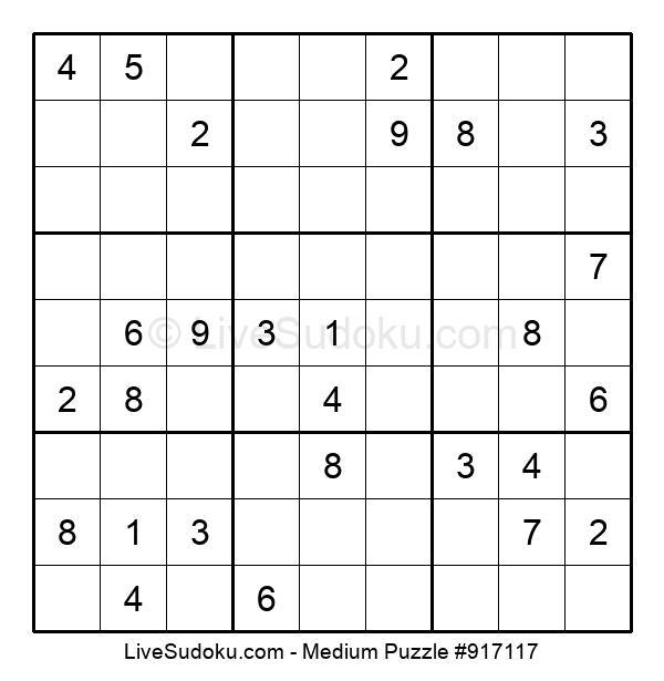 Medium Puzzle #917117