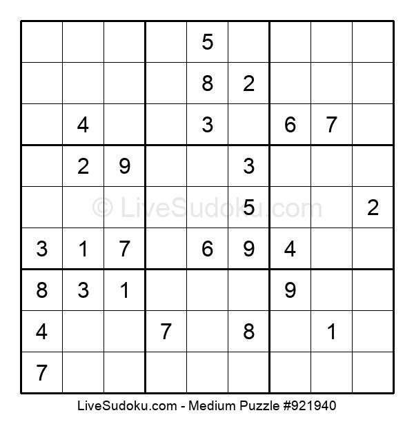 Medium Puzzle #921940
