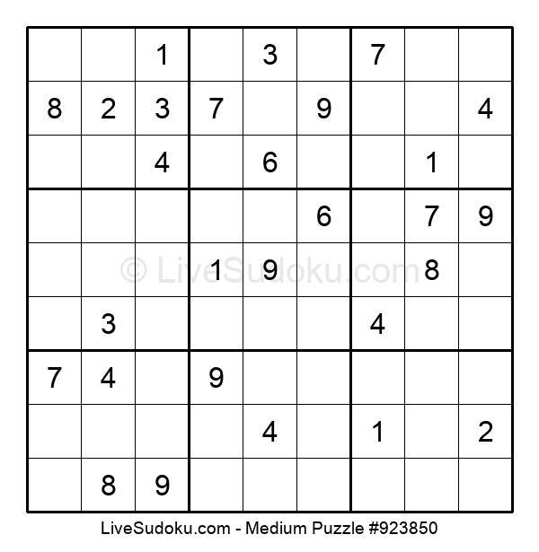Medium Puzzle #923850