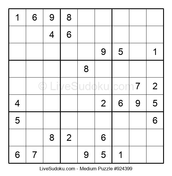Medium Puzzle #924399