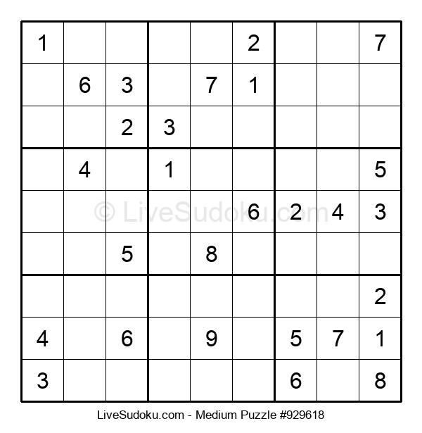 Medium Puzzle #929618