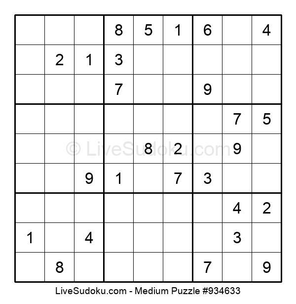 Medium Puzzle #934633