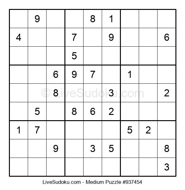 Medium Puzzle #937454