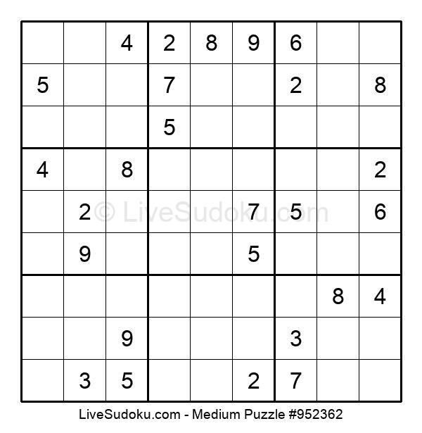 Medium Puzzle #952362