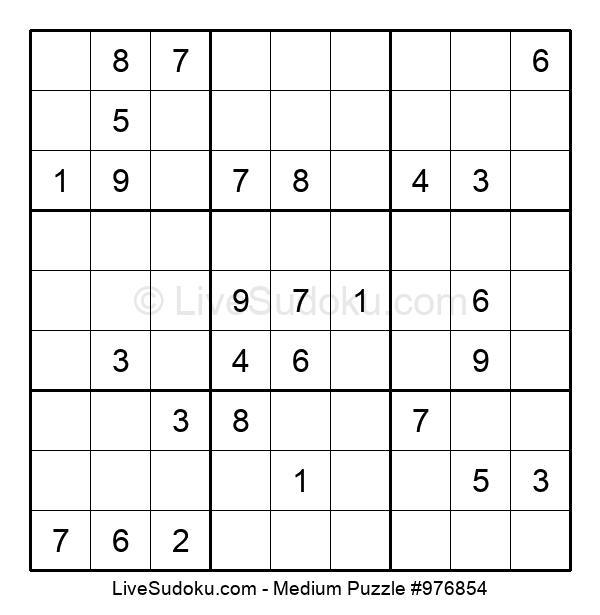 Medium Puzzle #976854