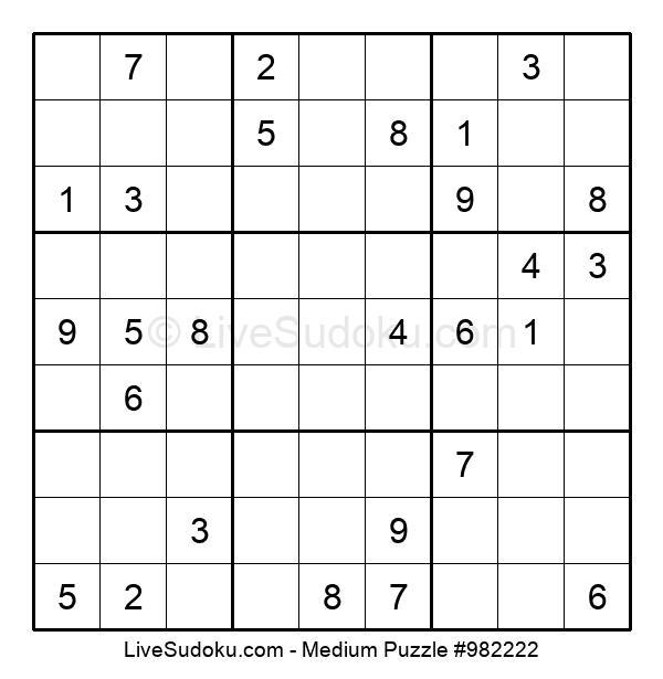 Medium Puzzle #982222
