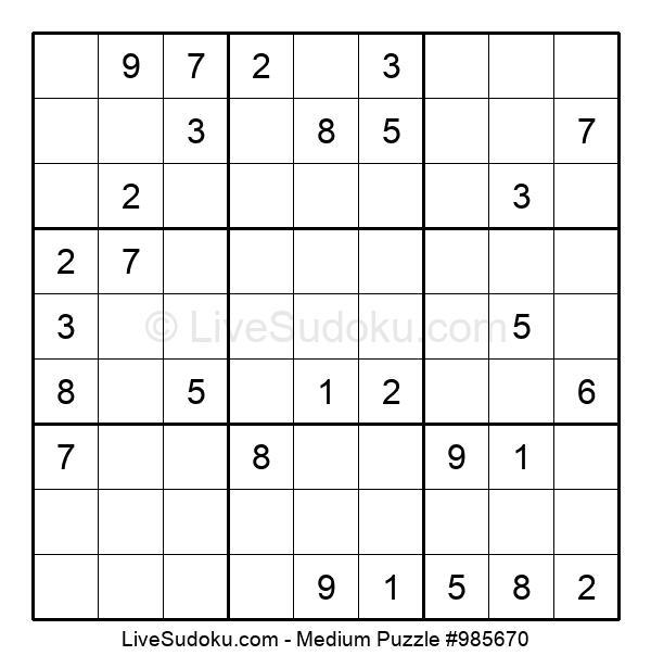 Medium Puzzle #985670