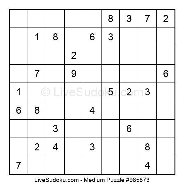 Medium Puzzle #985873
