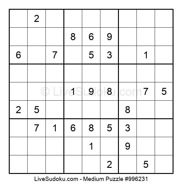 Medium Puzzle #996231