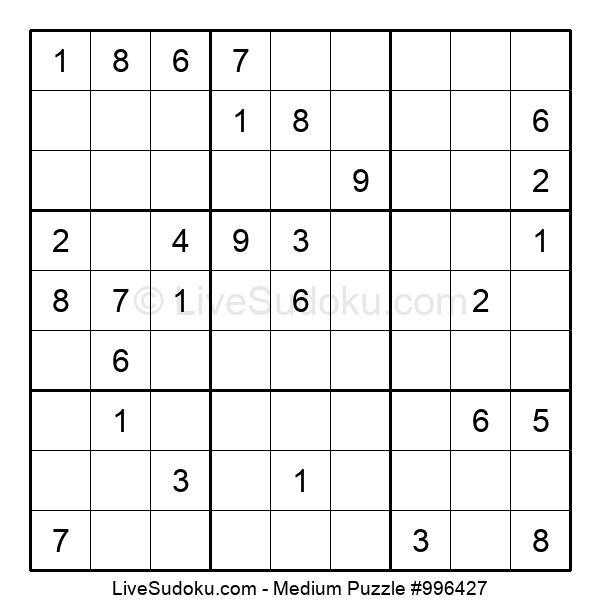 Medium Puzzle #996427